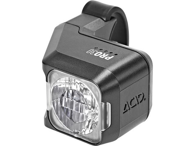 Cube ACID Pro 30 Cykellygter, sort